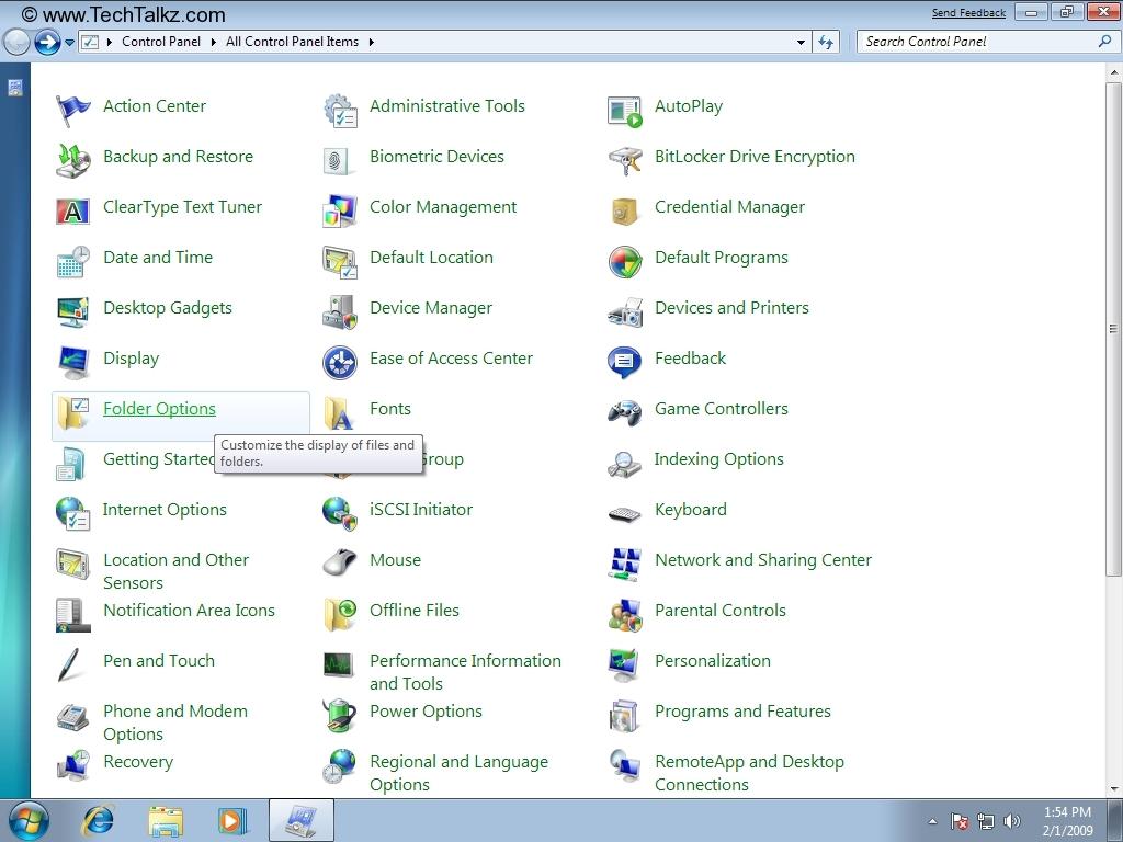 Windows 7 Folder