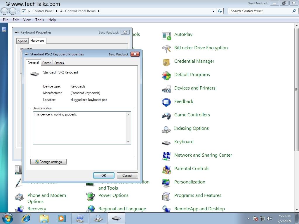 How to customize keyboard in windows 7 windows 7.